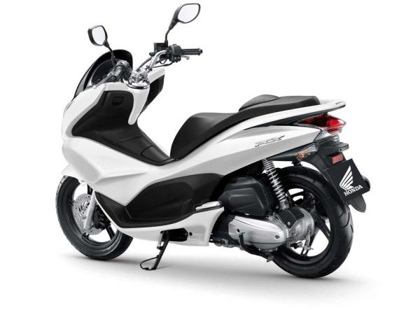 2010 Honda PCX 125i: consumo mínimo