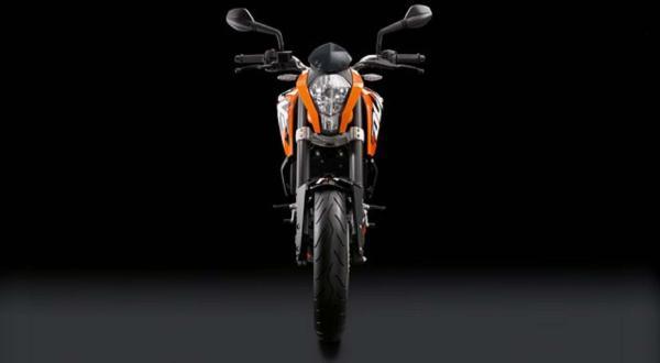 2012 KTM 200 Duke para empezar con buen pié