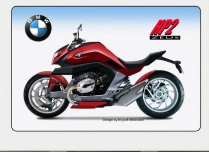 Macho bike BMW