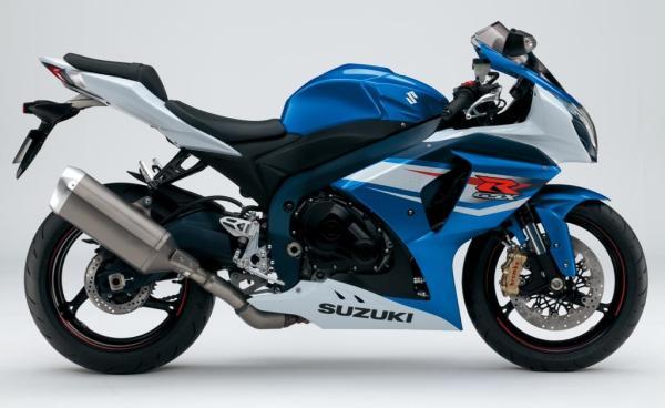 2012 Suzuki GSX-R 1000: pequeñas modificaciones